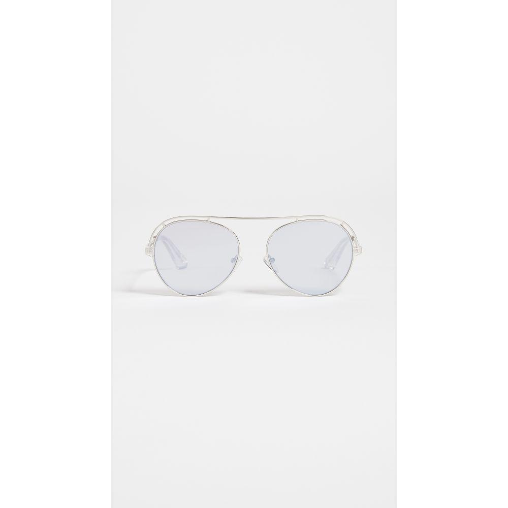エリザベス アンド ジェームス レディース メガネ・サングラス【Reeves Sunglasses】Silver/Silver