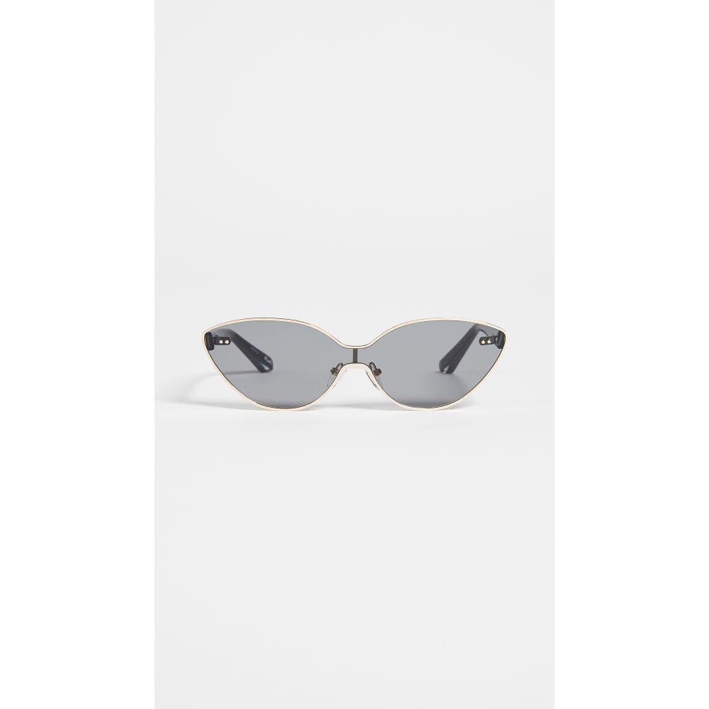 エリザベス アンド ジェームス レディース メガネ・サングラス【Mack Sunglasses】Gold/Smoke Mono