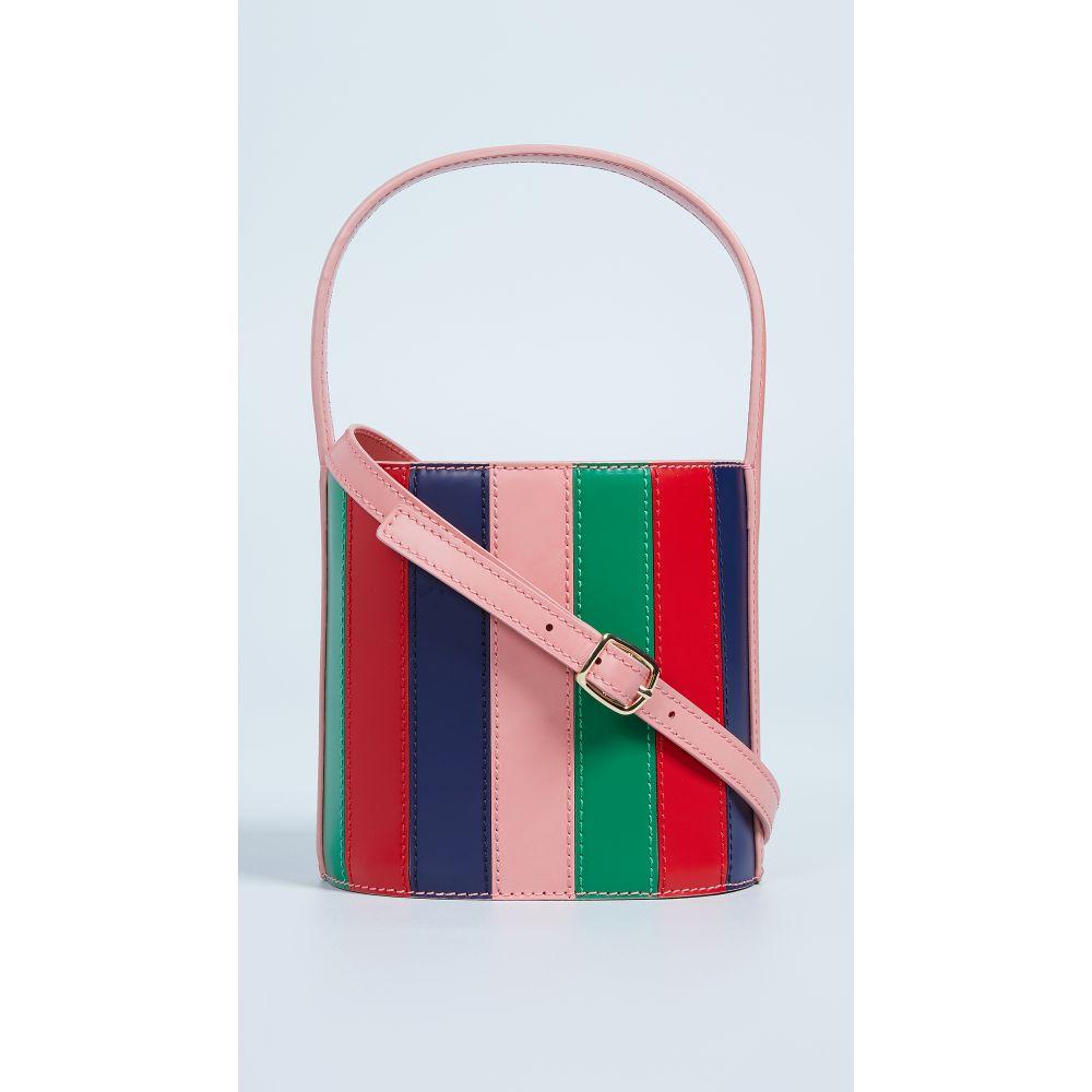 スタッド レディース バッグ ショルダーバッグ【Bisset Bag】Multi Stripe