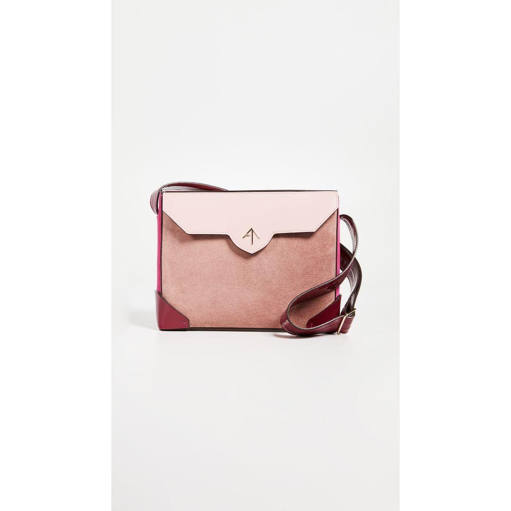 マニュ アトリエ レディース バッグ ショルダーバッグ【Bold Combo Shoulder Bag】Rose/Fuchsia/Bubblegum