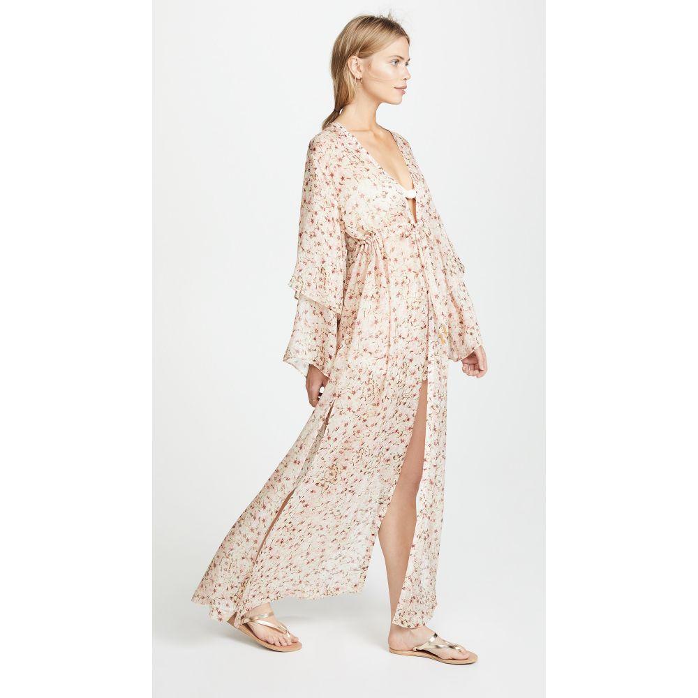 パロマ ブルー レディース 水着・ビーチウェア ビーチウェア【Sunset Kimono】Blush