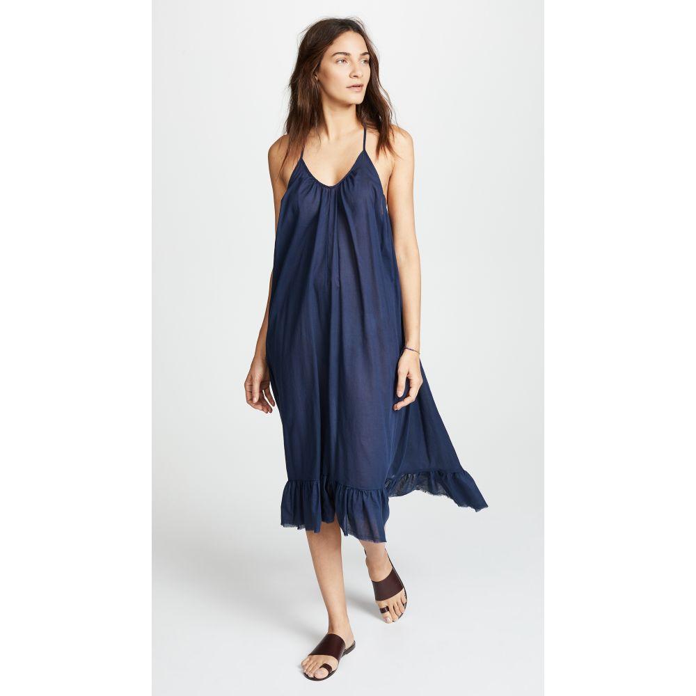 スキン レディース 水着・ビーチウェア ビーチウェア【The Blakely Dress】Indigo