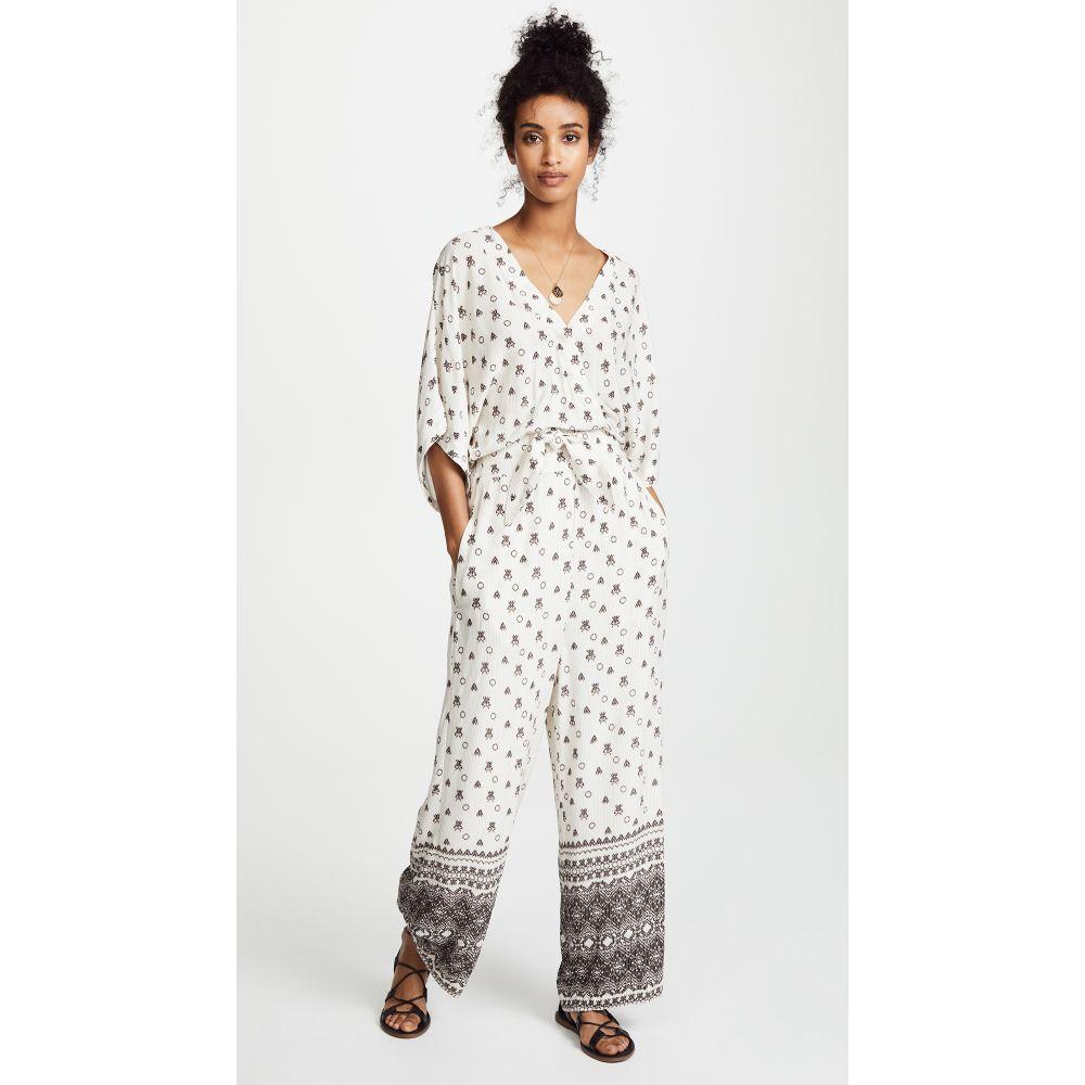 スプレンディッド レディース ワンピース・ドレス オールインワン【Desert Batik Jumpsuit】Natural
