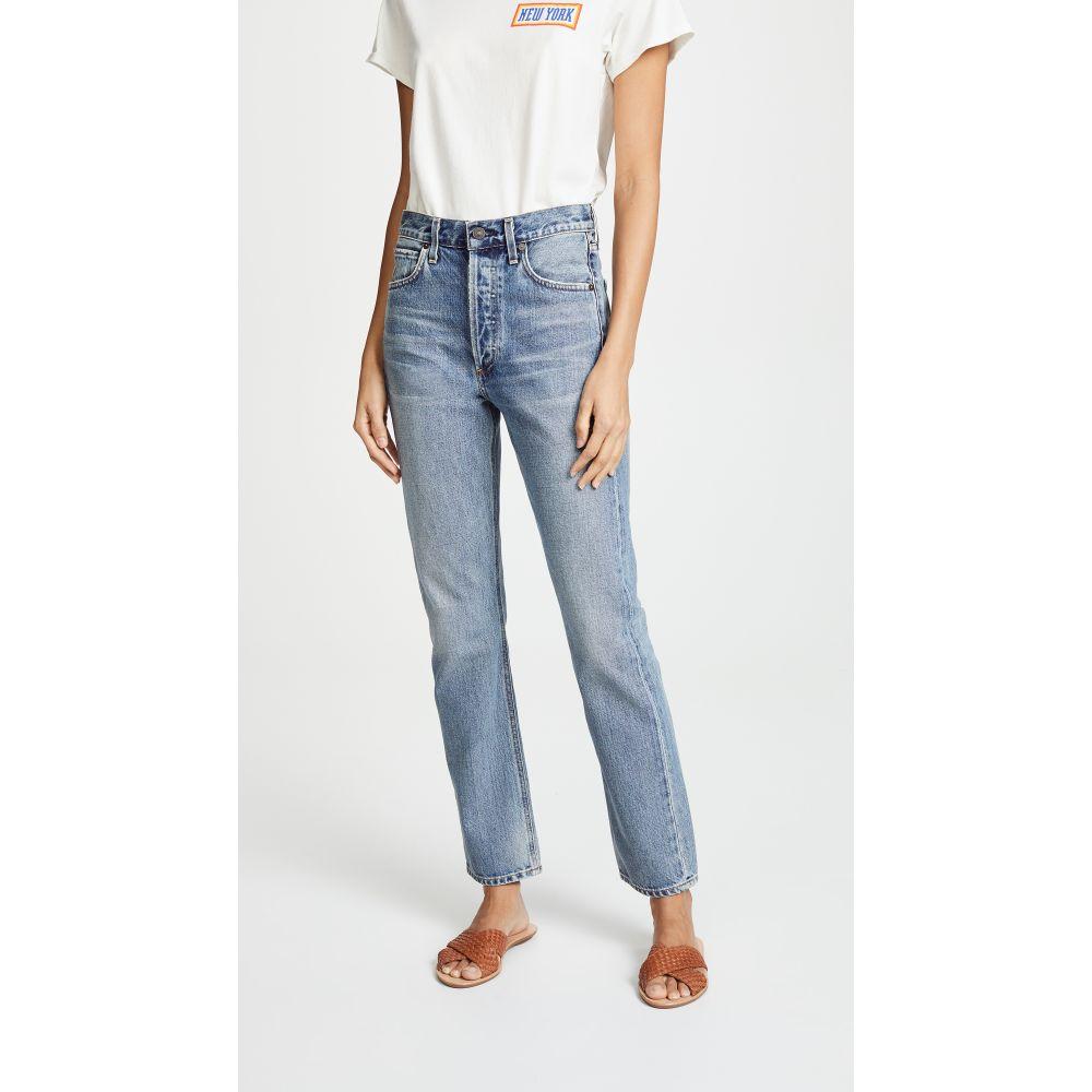 シチズン オブ ヒューマニティ レディース ボトムス・パンツ ジーンズ・デニム【Charlotte High Rise Straight Jeans】Wynwood
