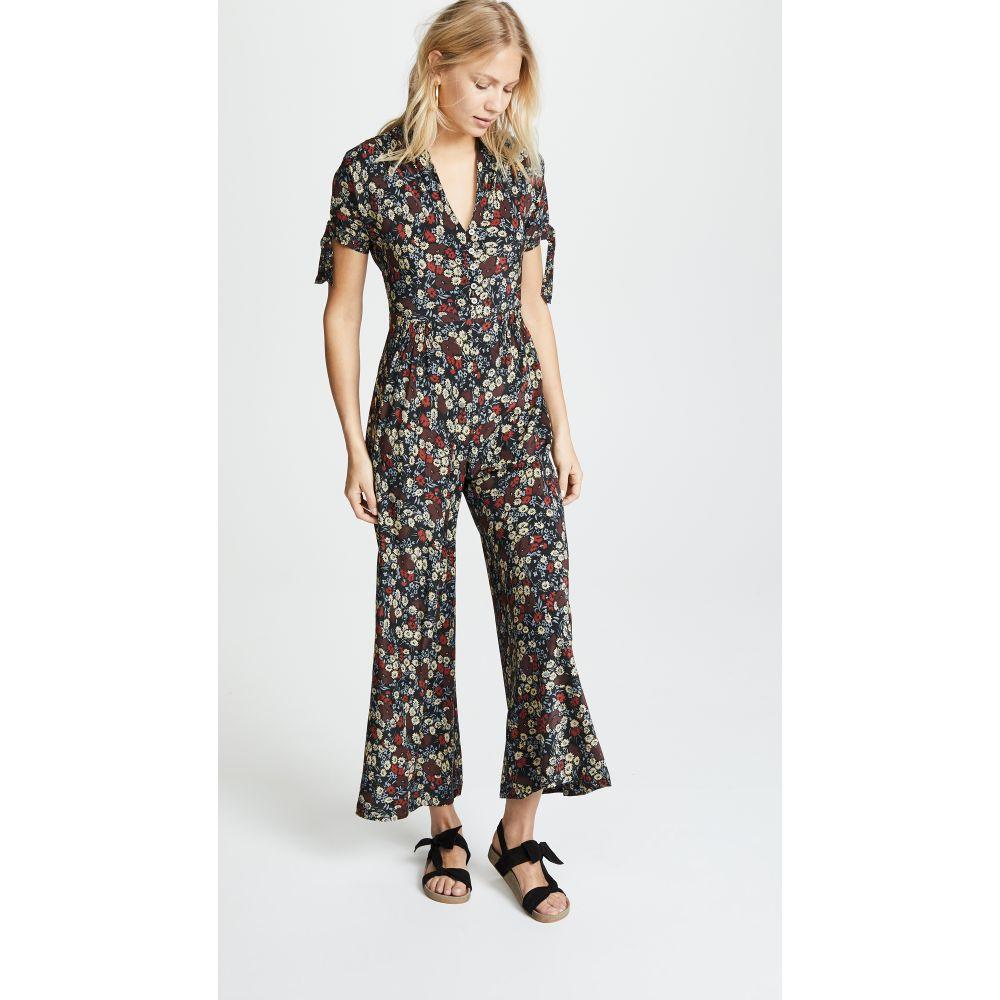 ナンバーシックス レディース ワンピース・ドレス オールインワン【Althea Jumpsuit】Large Cherry London Floral