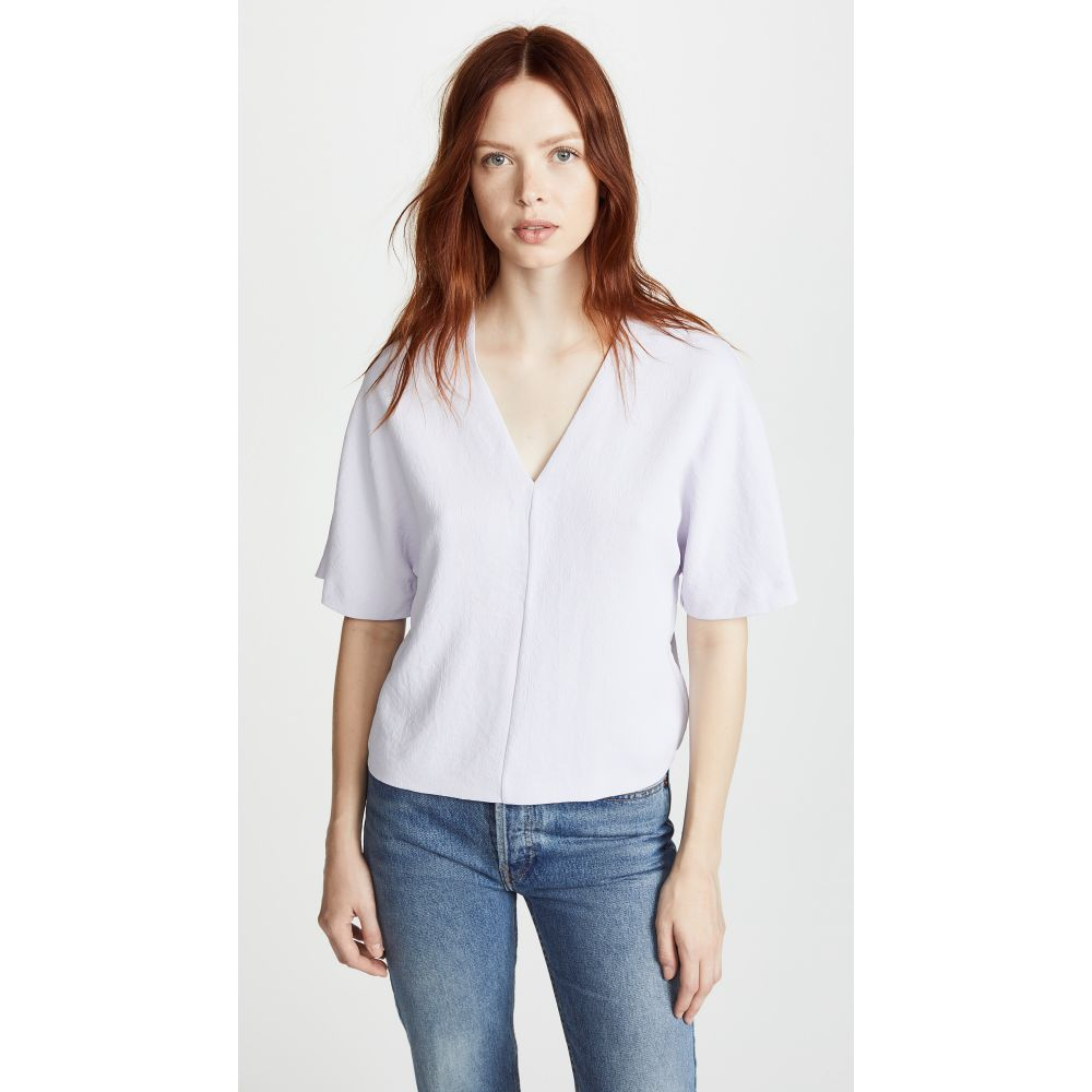 ディオン リー レディース トップス Tシャツ【Whitewash Tee】Violet