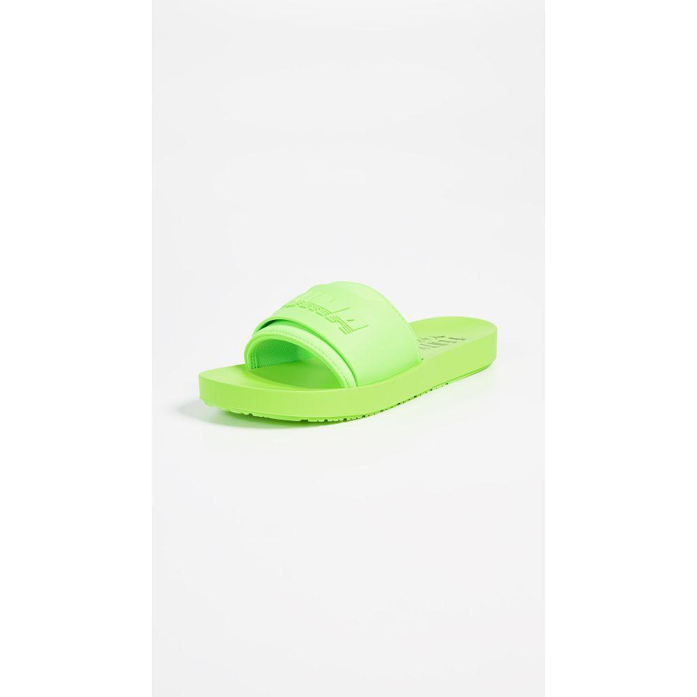 プーマ レディース シューズ・靴 サンダル・ミュール【FENTY x PUMA Surf Slides】Green Gecko/Green Gecko