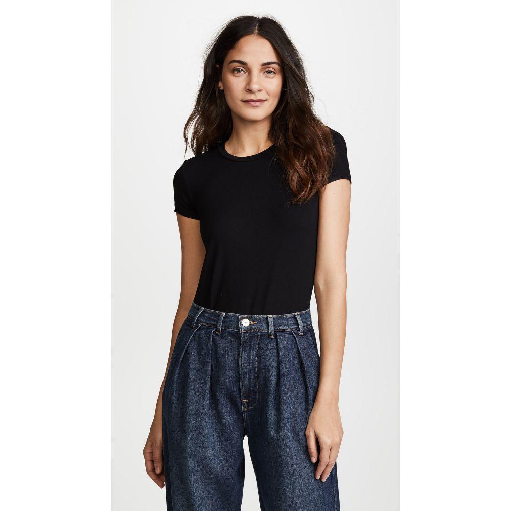 オンリー ハーツ レディース インナー・下着 ボディースーツ【So Fine Layering T-Shirt Bodysuit】Black