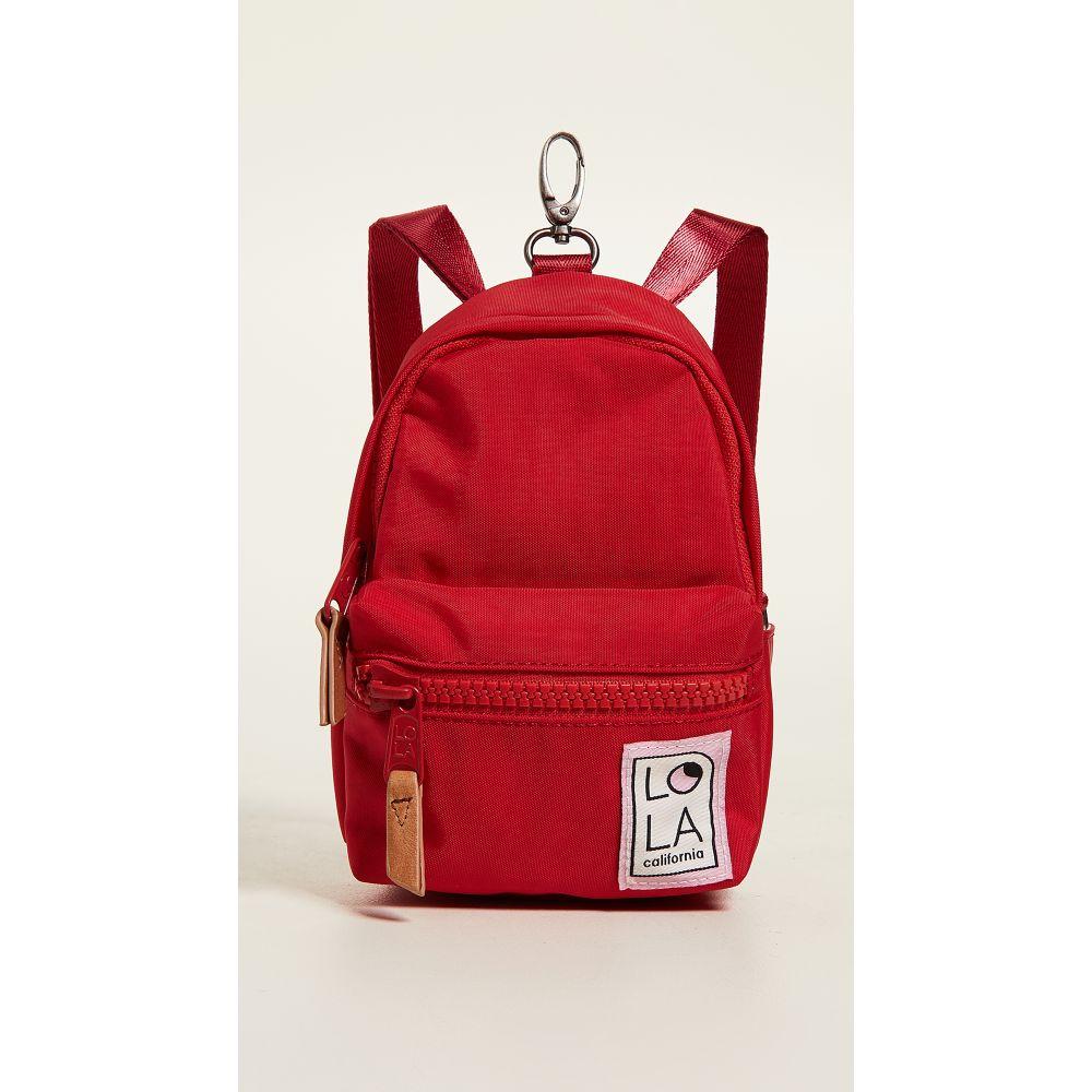ローラ レディース バッグ バックパック・リュック【Stargazer Mini Convertible Backpack】Tomato
