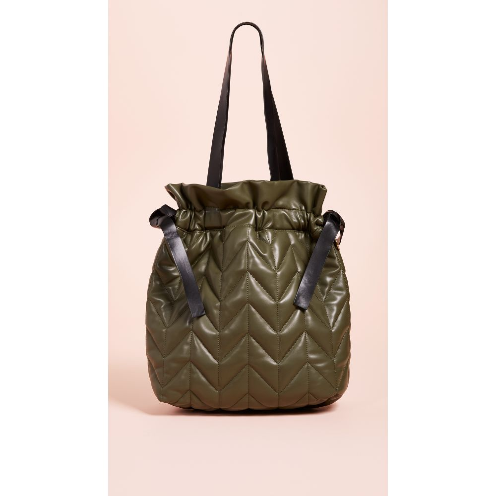 スタジオ33 Studio 33 レディース バッグ トートバッグ【Nifty Drawstring Tote Bag】Army Green
