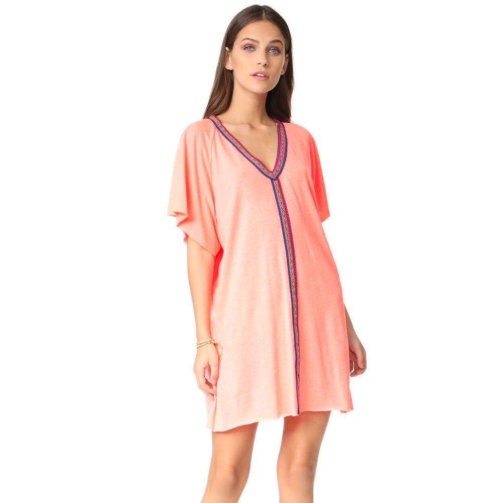 ピトゥサ Pitusa レディース 水着・ビーチウェア ビーチウェア【Mini Abaya Dress】Coral