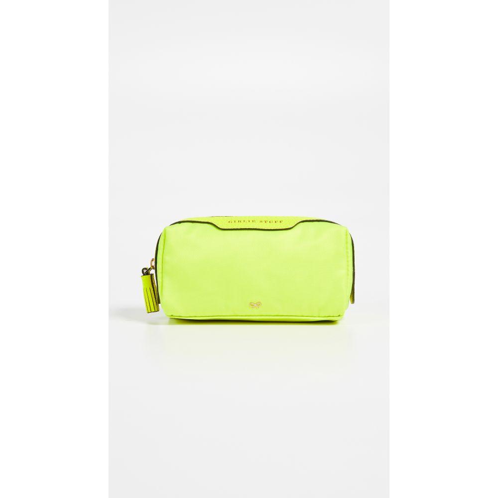 アニヤ ハインドマーチ Anya Hindmarch レディース ポーチ【Girlie Stuff Pouch】Neon Yellow