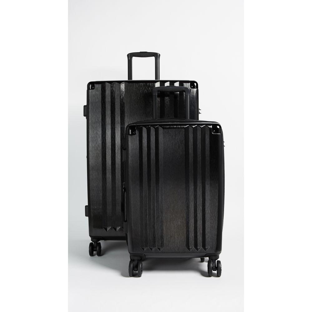 カルパック CALPAK レディース バッグ スーツケース・キャリーバッグ【Ambeur 2 Piece Set】Black