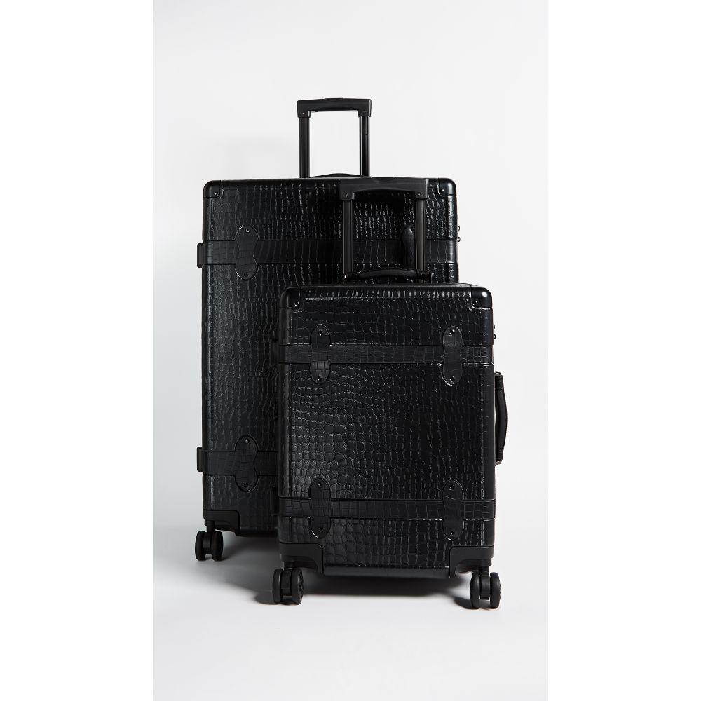 カルパック CALPAK レディース バッグ スーツケース・キャリーバッグ【Trnk 2 Piece Set】Black