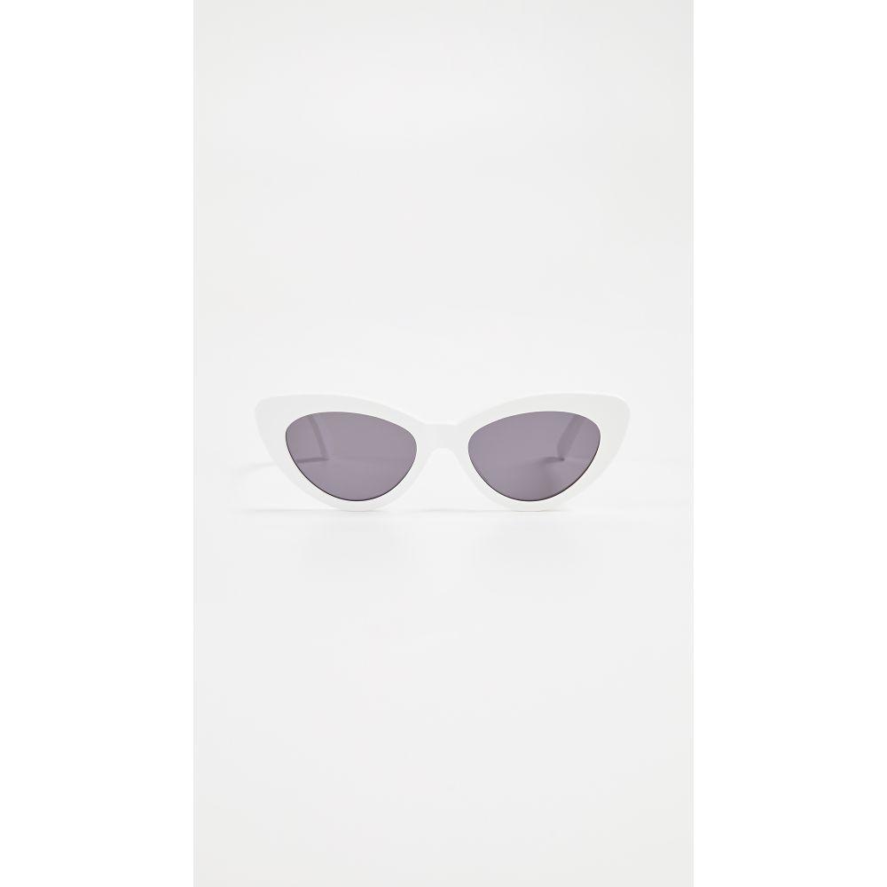 イレステーバ Illesteva レディース メガネ・サングラス【Pamela Sunglasses】White/Grey