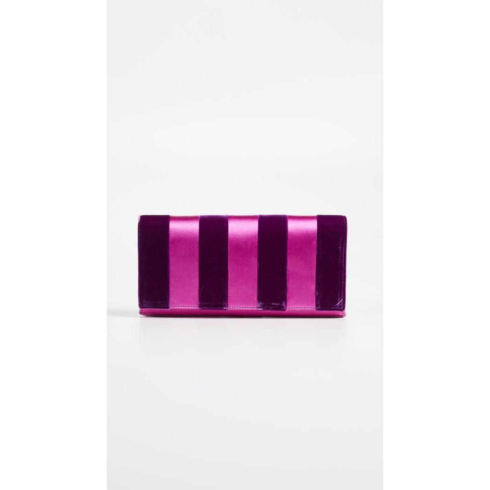 ダイアン フォン ファステンバーグ Diane von Furstenberg レディース バッグ クラッチバッグ【Velvet Clutch】Ribbon Pink Multi
