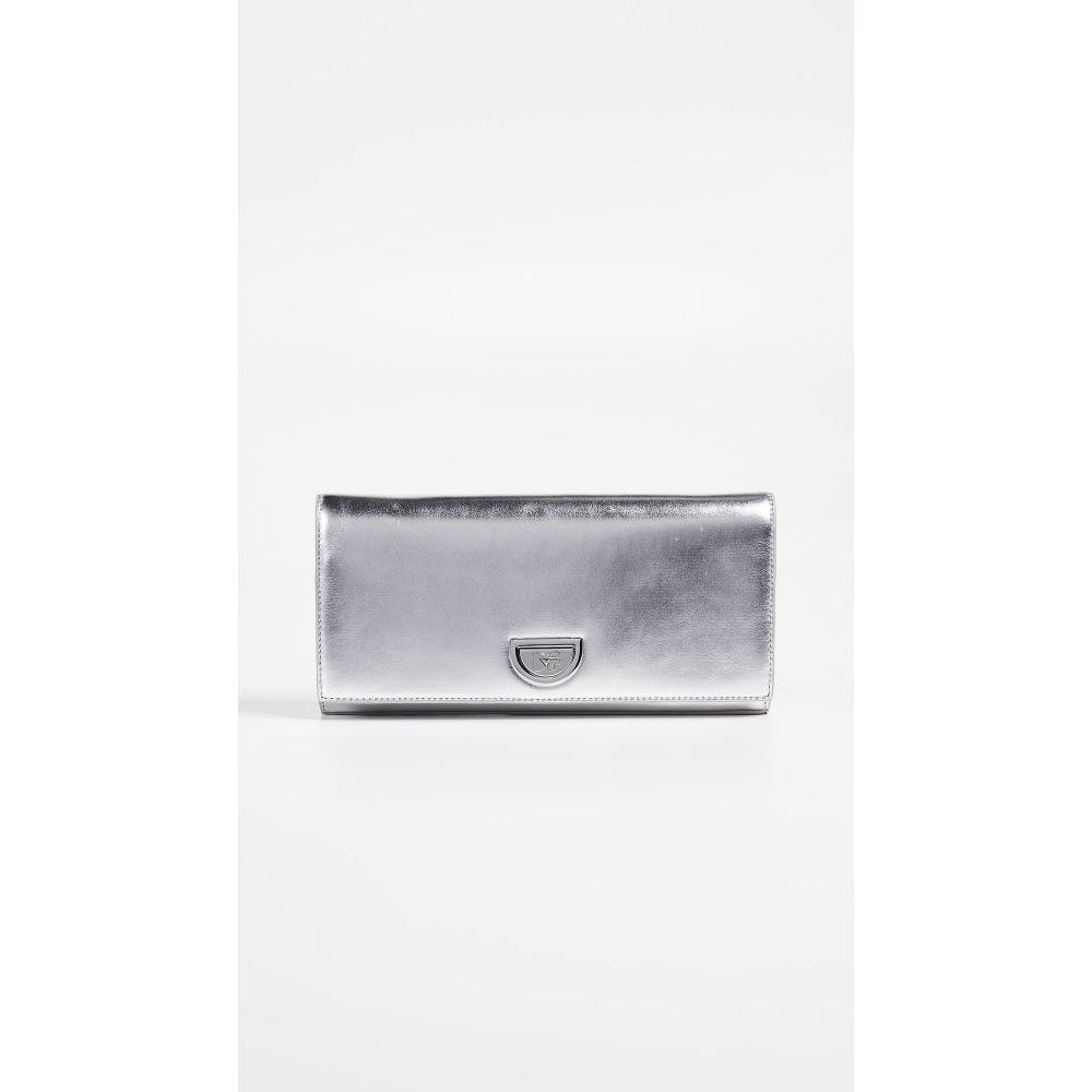 ダイアン フォン ファステンバーグ Diane von Furstenberg レディース バッグ クラッチバッグ【Metallic Clutch】Silver