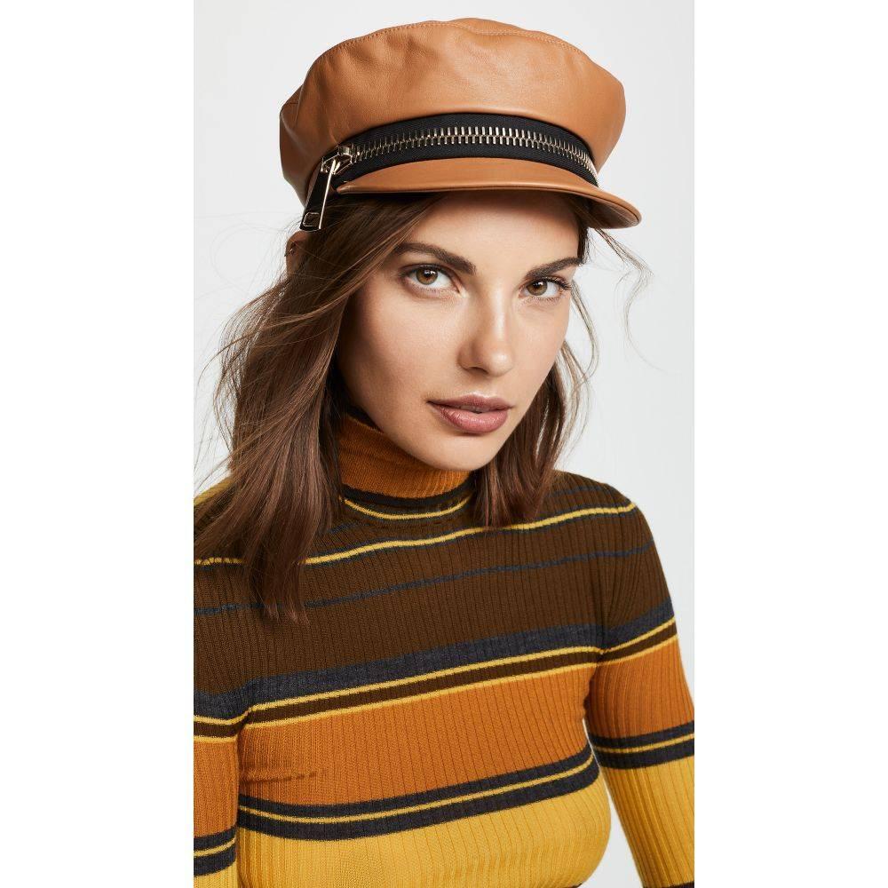 ユージニア キム Eugenia Kim レディース 帽子【Marina Hat】Camel