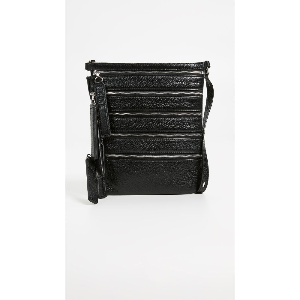 カラ KARA レディース バッグ ボディバッグ・ウエストポーチ【Multi Zip Waist Bag】Black