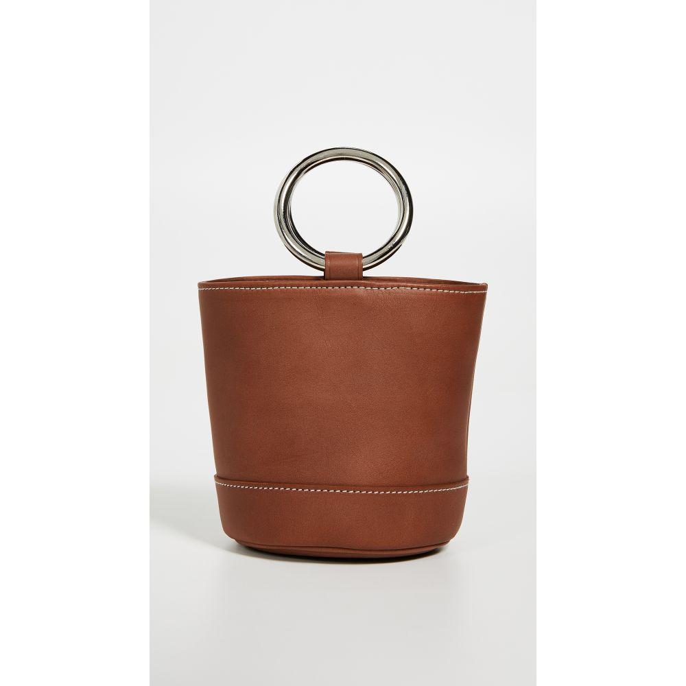 サイモンミラー Simon Miller レディース バッグ ハンドバッグ【Bonsai Mini Bucket Bag】Dark Tan