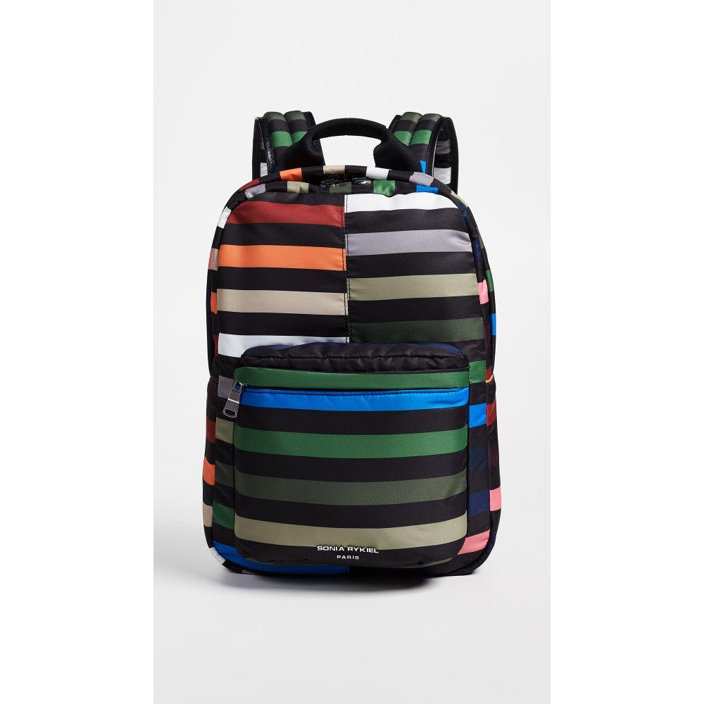 ソニア リキエル Sonia Rykiel レディース バッグ バックパック・リュック【Stripe Backpack】Multi