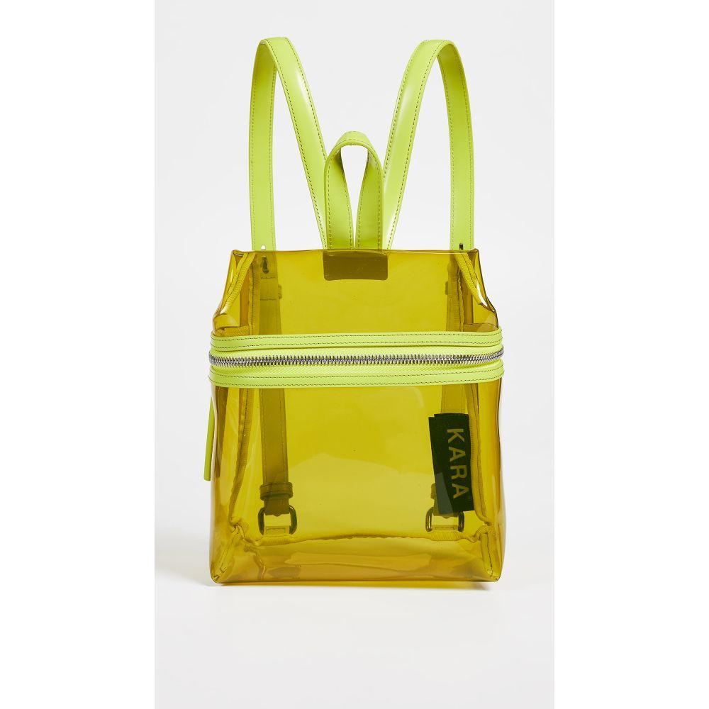 カラ KARA レディース バッグ バックパック・リュック【Small Backpack】Lime/Limeade