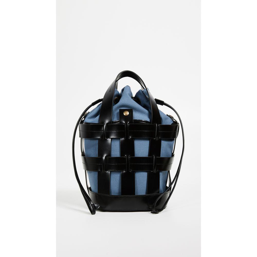 トレードマーク Trademark レディース バッグ トートバッグ【Cooper Cage Tote Bag】Black/Denim Blue