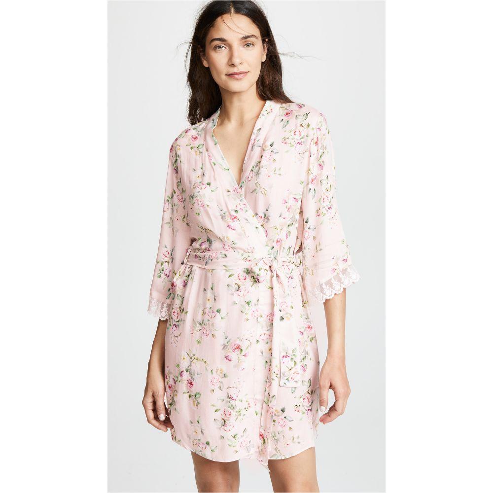 フローラニクルーズ Flora Nikrooz レディース インナー・下着 ガウン・バスローブ【Rose Printed Robe】Pink