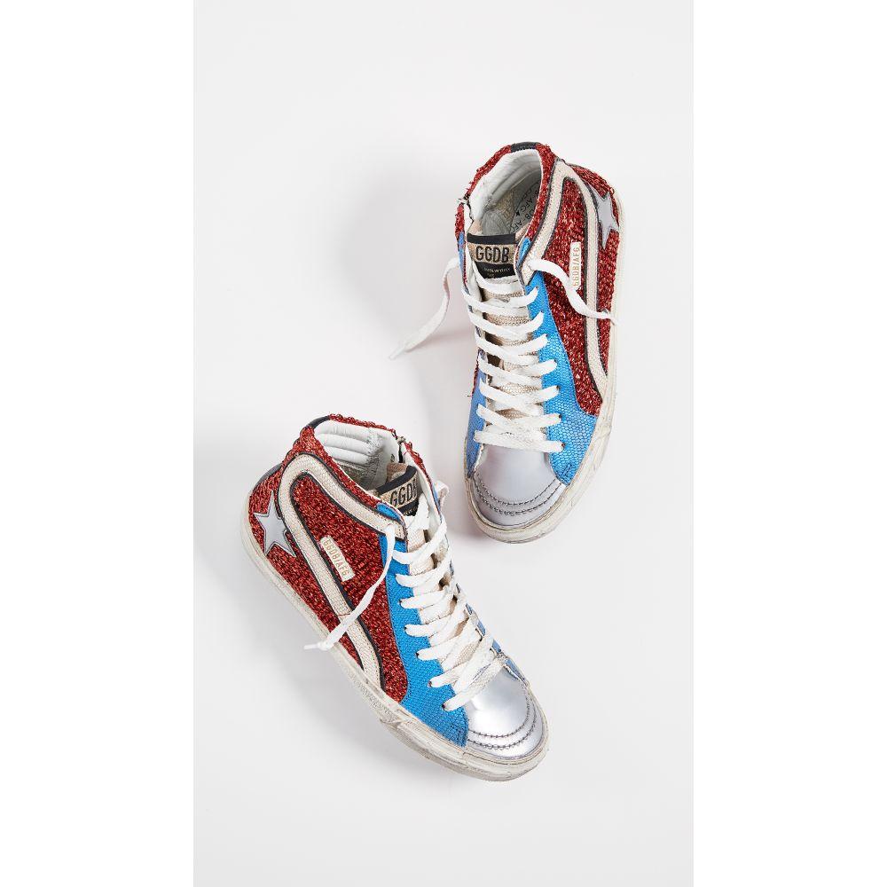 ゴールデン グース Golden Goose レディース シューズ・靴 スニーカー【Slide Sneakers】Red/Blue/Gold