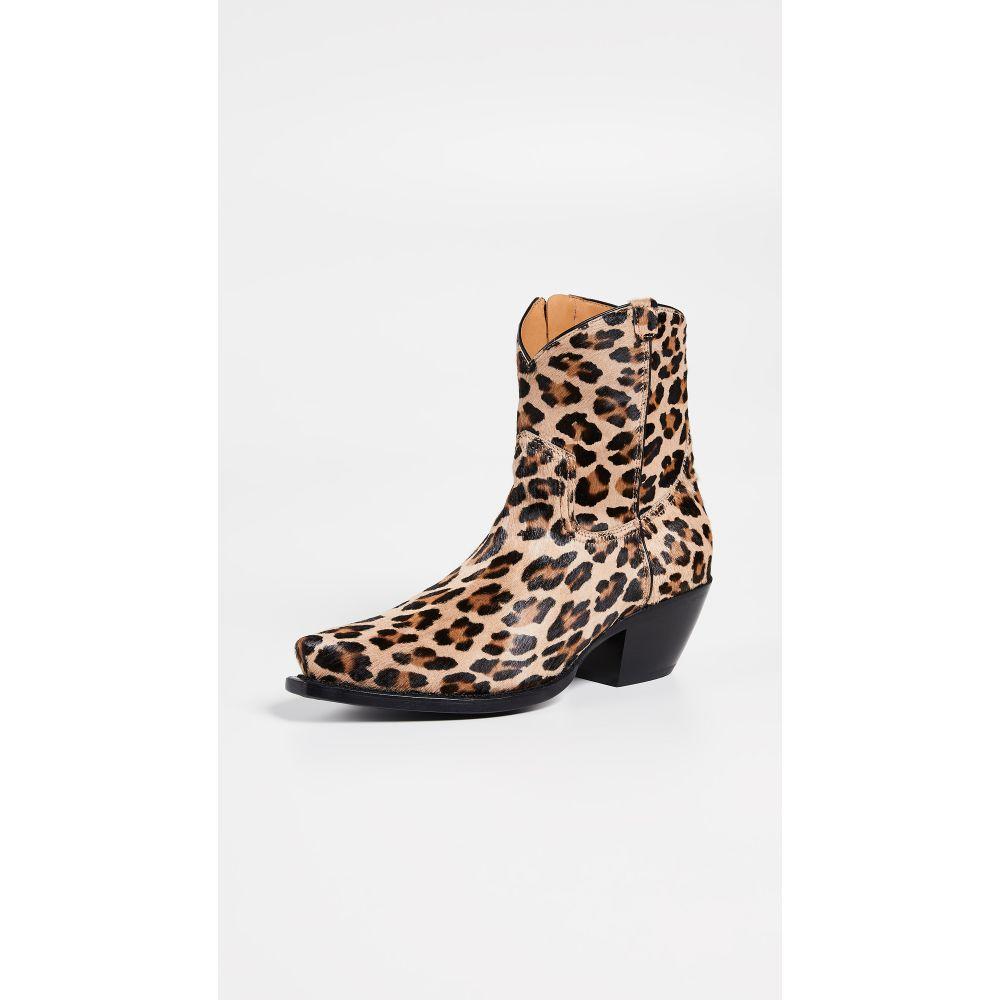 アール サーティーン R13 レディース シューズ・靴 ブーツ【Cowboy Ankle Booties】Leopard