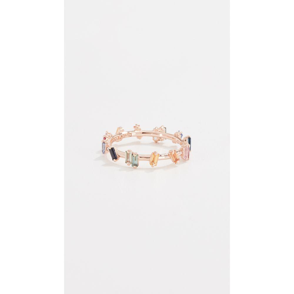 スザンヌカラン Suzanne Kalan レディース ジュエリー・アクセサリー 指輪・リング【18K Fireworks Barb Baguette Ring】Rose Gold
