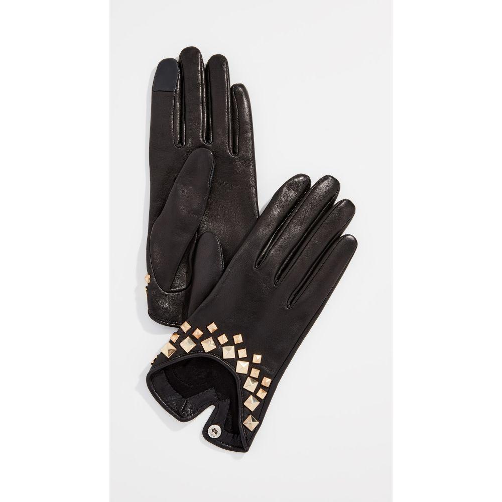 アニェル Agnelle レディース 手袋・グローブ【Josie Pyramide Gloves】Black