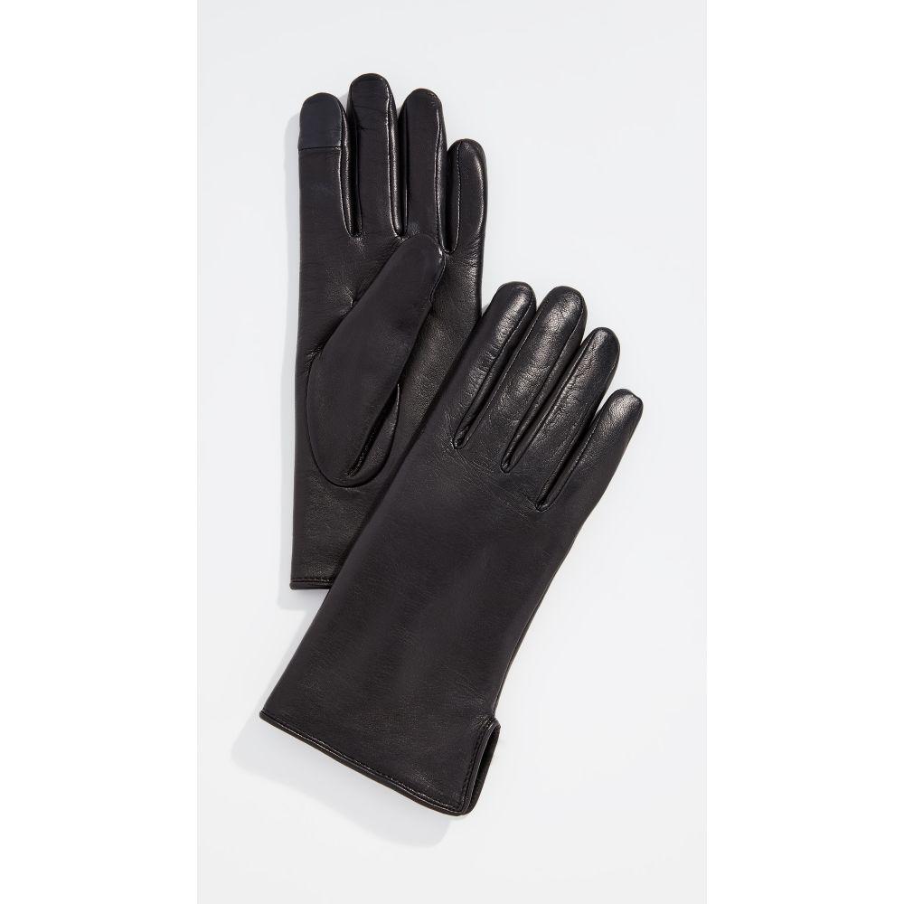 アニェル Agnelle レディース 手袋・グローブ【Lapin Gloves】Black