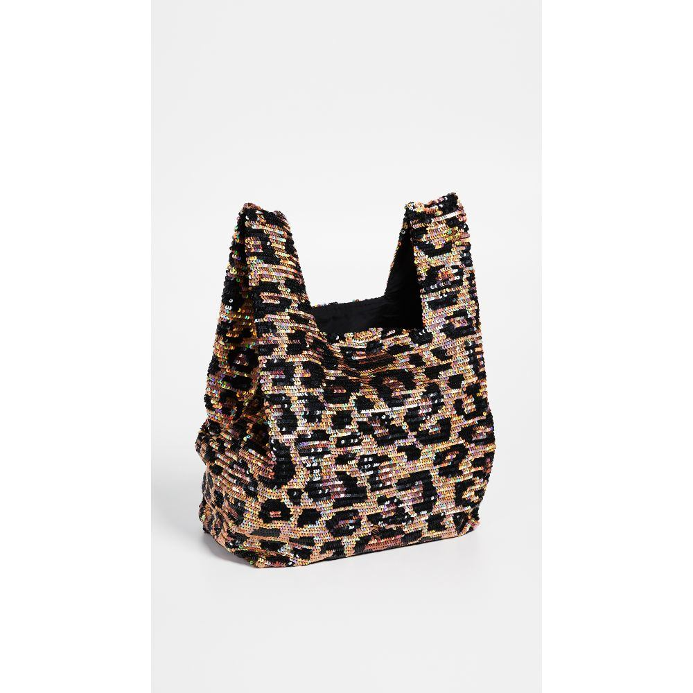 アシシュ ASHISH レディース バッグ トートバッグ【Sequin Classic Shopper Tote】Leopard