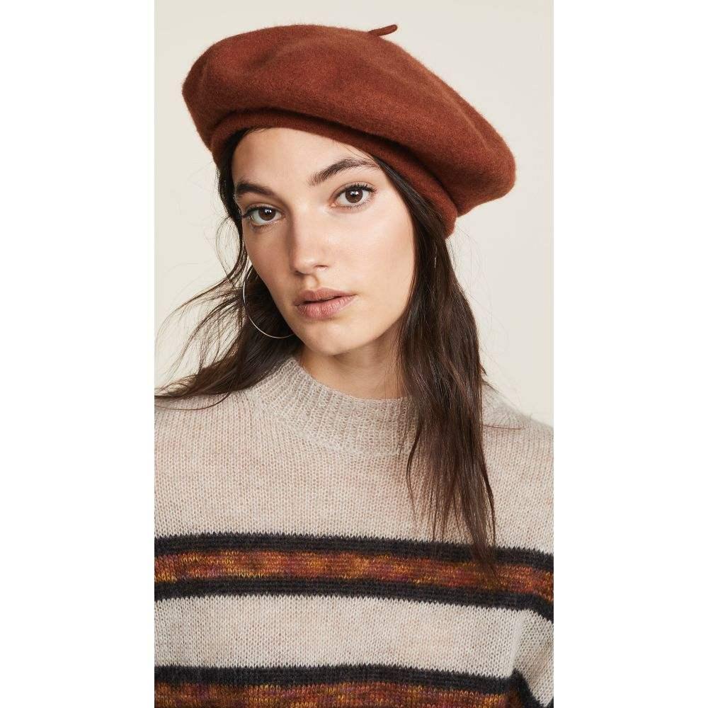 ブリクストン Brixton レディース 帽子【Audrey Beret Hat】Rust