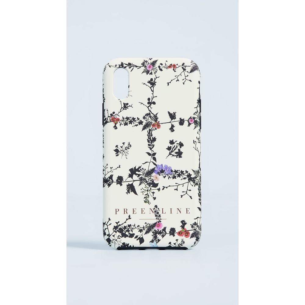 プリーン バイ ソーントン ブルガッジ Preen by Thornton Bregazzi レディース スマホケース【Preen Line Floral Phone case】Ivory Floral