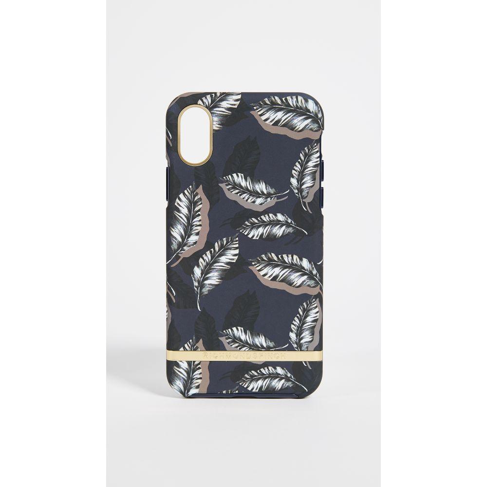 リッチモンド&フィンチ Richmond & Finch レディース iPhone (X)ケース【Botanical Leaves iPhone X Case】Botanical Leaves