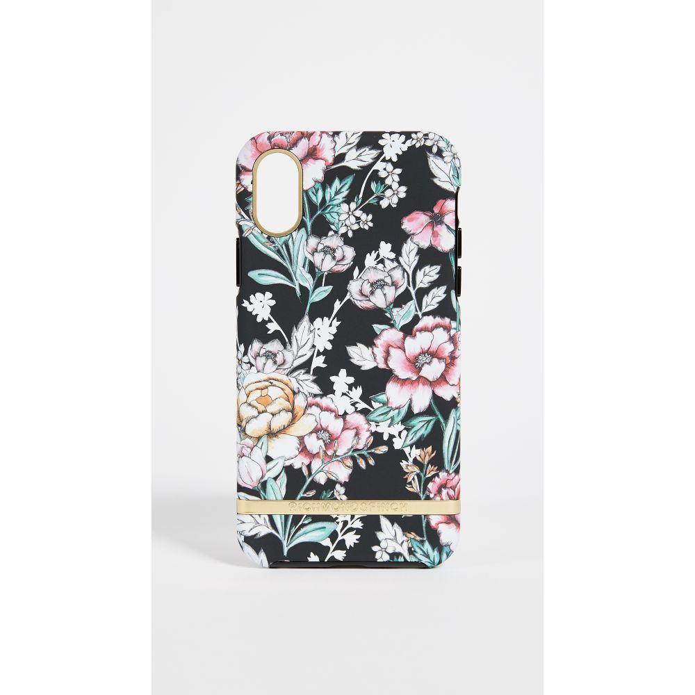 リッチモンド&フィンチ Richmond & Finch レディース iPhone (X)ケース【Black Floral iPhone X Case】Black Floral