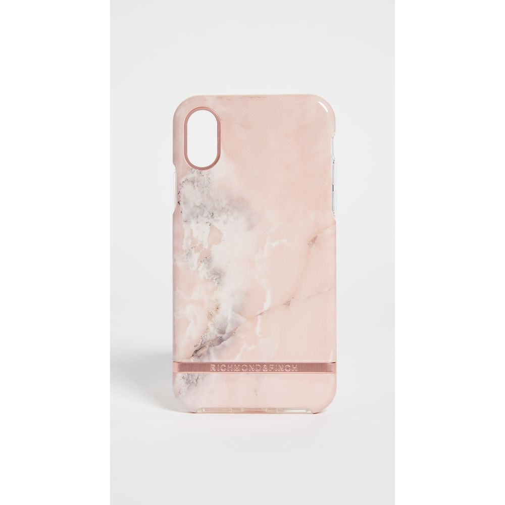 リッチモンド&フィンチ Richmond & Finch レディース iPhone (X)ケース【Pink Marble IPhone X Case】Pink/Rose Gold