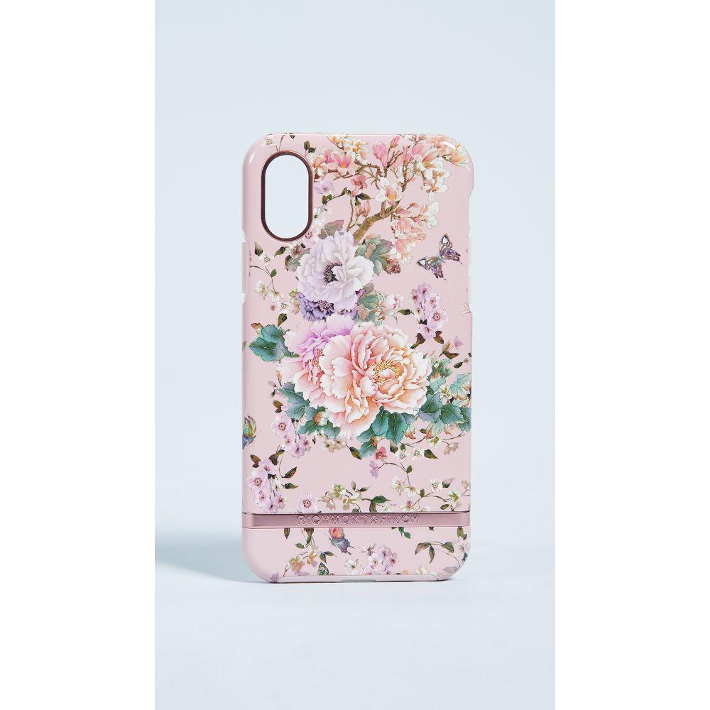 リッチモンド&フィンチ Richmond & Finch レディース iPhone (X)ケース【Peonies & Butterflies iPhone X Case】Pink/Multi
