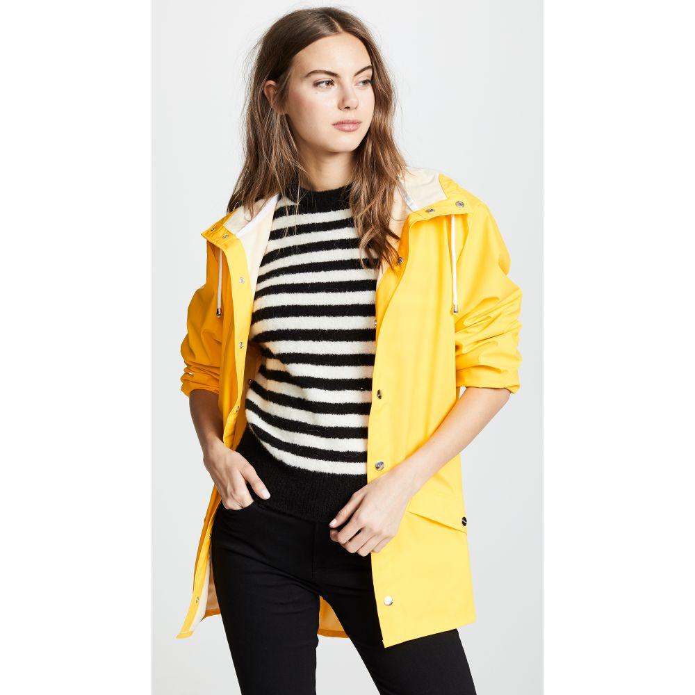 レインズ Rains レディース アウター レインコート【Rain Jacket】Yellow