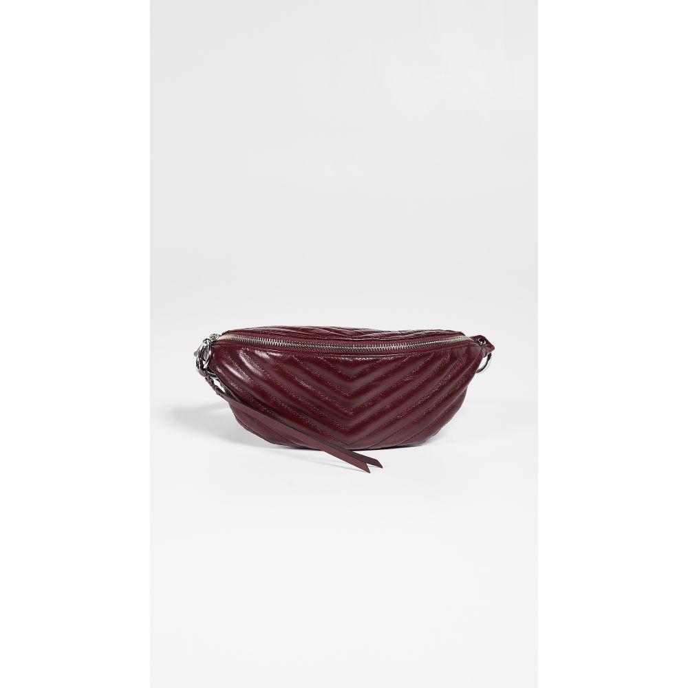 レベッカ ミンコフ Rebecca Minkoff レディース バッグ ボディバッグ・ウエストポーチ【Edie Quilted Belt Bag】Bordeaux