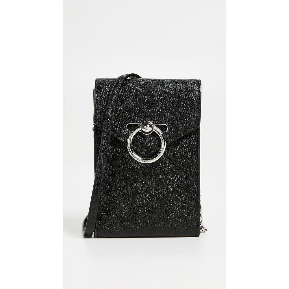 レベッカ ミンコフ Rebecca Minkoff レディース スマホケース【Jean Phone Crossbody Bag】Black