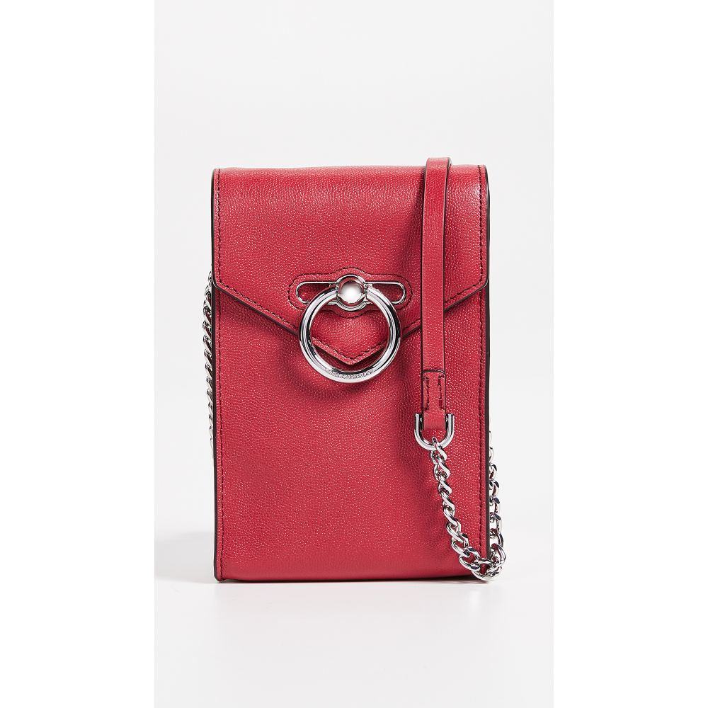 レベッカ ミンコフ Rebecca Minkoff レディース スマホケース【Jean Phone Crossbody Bag】Scarlet