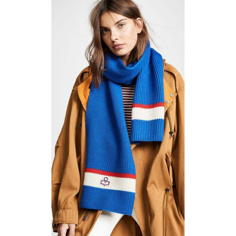 イザベル マラン Isabel Marant レディース マフラー・スカーフ・ストール【Helona Ski Knit Scarf】Blue