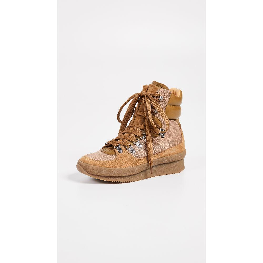 イザベル マラン Isabel Marant レディース ハイキング・登山 シューズ・靴【Brendty Suede Hiking Boots】Khaki
