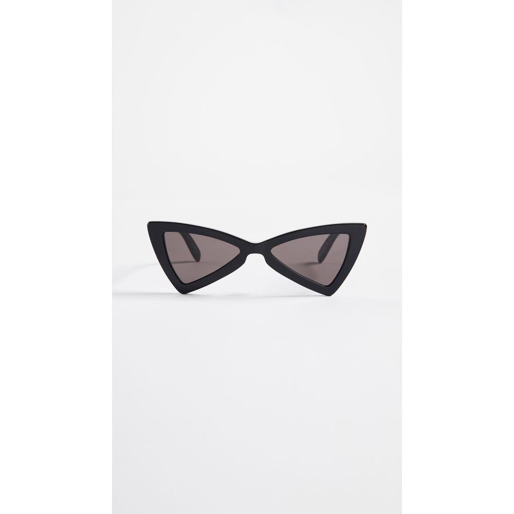 イヴ サンローラン Saint Laurent レディース メガネ・サングラス【Jerry Sunglasses】Black