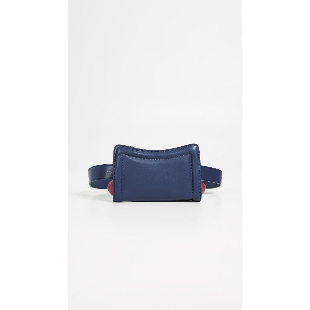 エルメ Elleme レディース バッグ ボディバッグ・ウエストポーチ【Banane Convertible Belt Bag】Navy/Burgundy