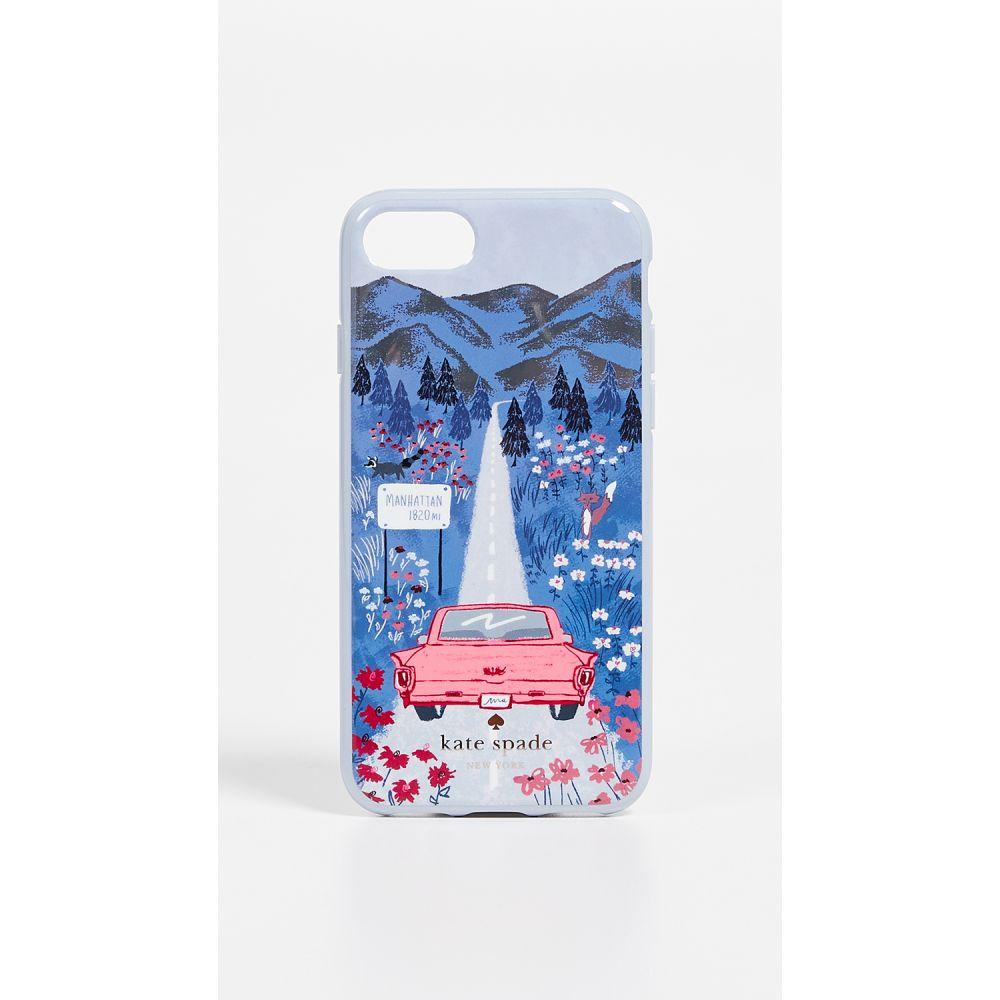 ケイト スペード Kate Spade New York レディース iPhone (8)ケース【Road Scene iPhone 7 / 8 Case】Multi