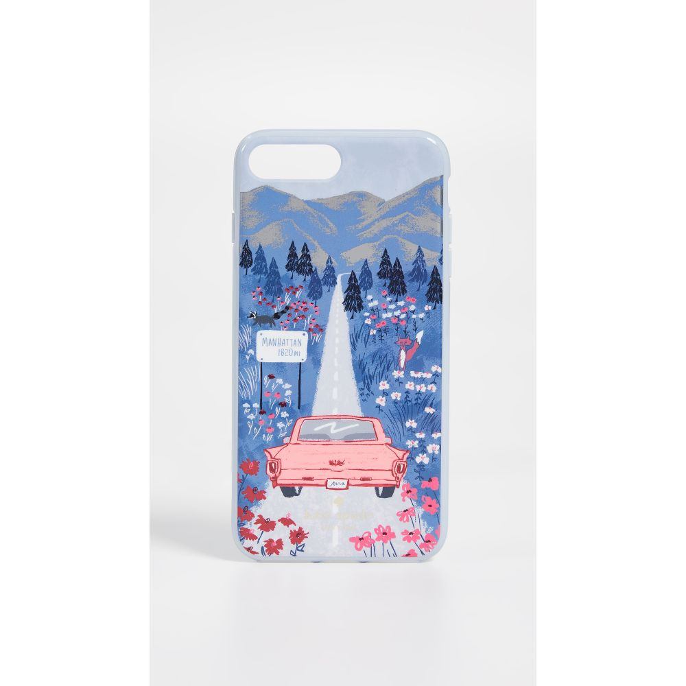 ケイト スペード Kate Spade New York レディース iPhone (8 Plus)ケース【Road Scene iPhone 7 Plus / 8 Plus Case】Multi